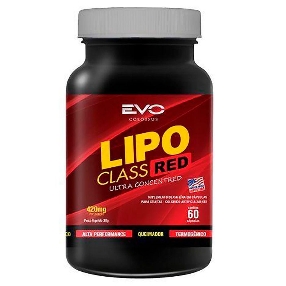 Lipo Class Red 420mg 60Caps Evo Colossus