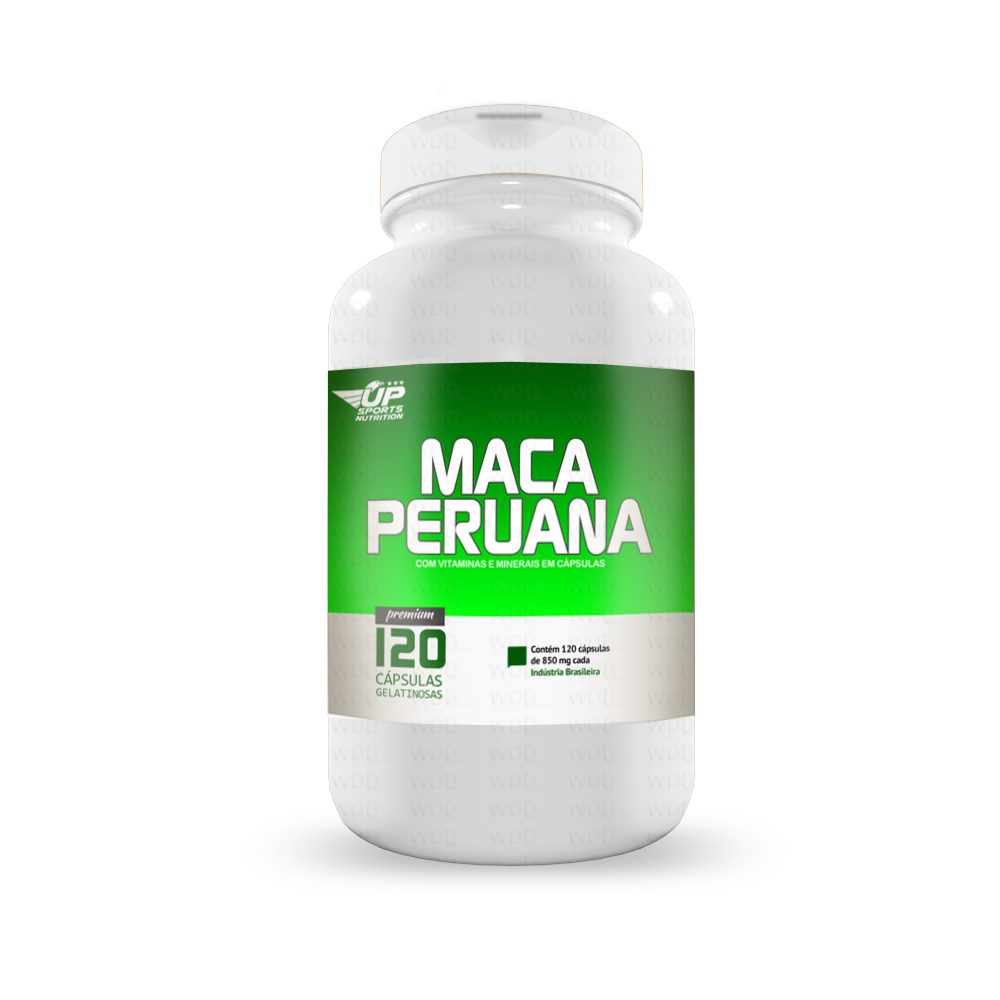 Maca Peruana 120 caps Up Sports Nutrition