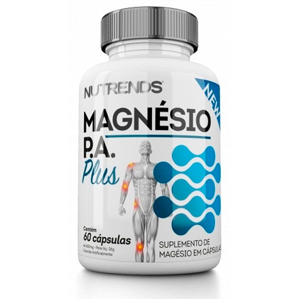 Magnésio P.A. Plus Vegano 600mg 60 caps  Nutrends