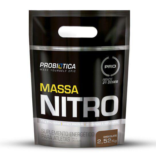 Massa Nitro Refil 2,52kg Probiotica