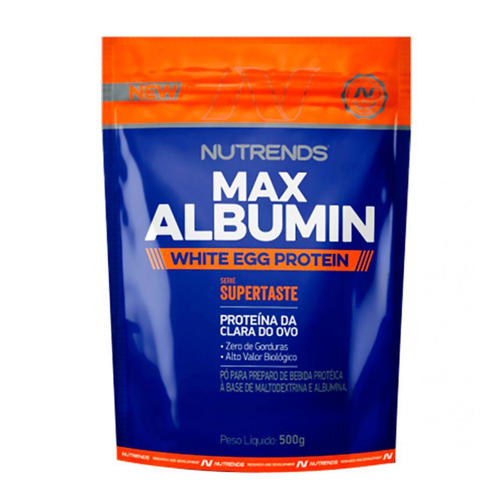 Max Albumin White Egg 500g Nutrends