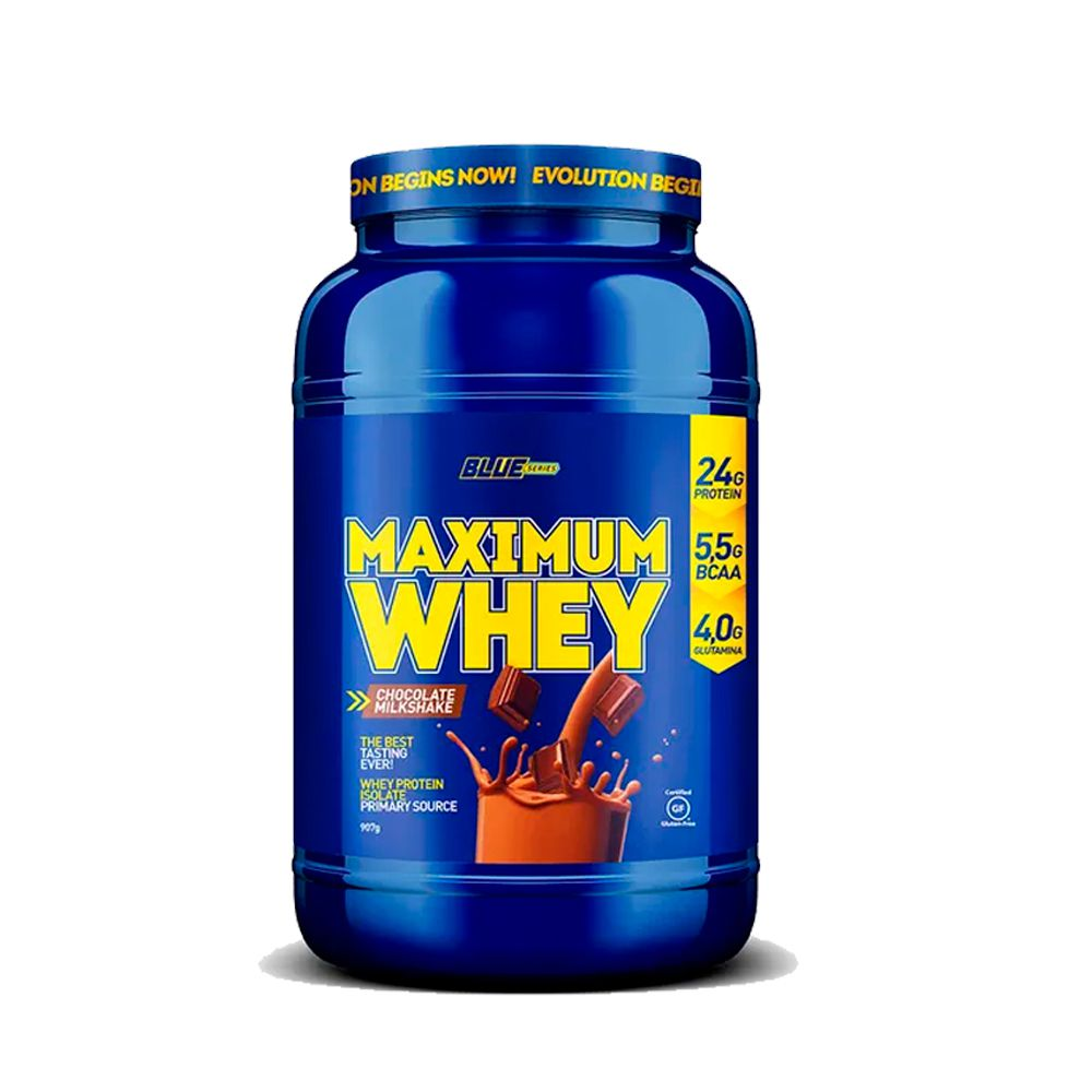Maximum Whey 907g Blue Series