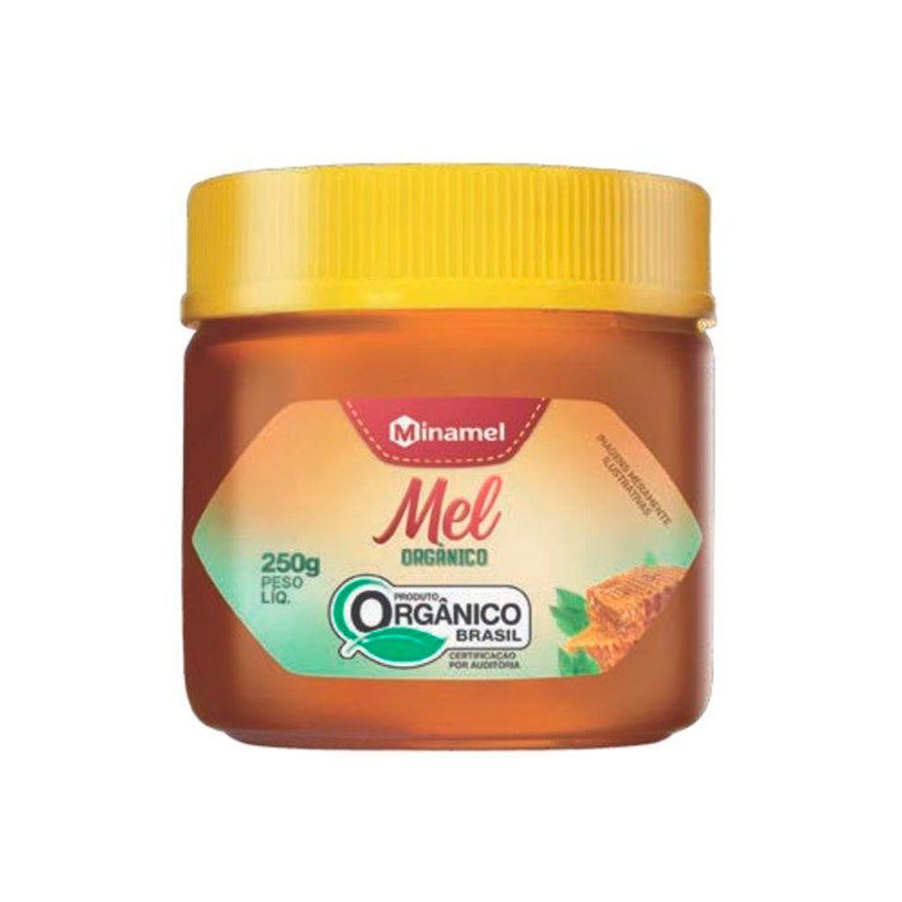 Mel Orgânico 250g Pote Minamel