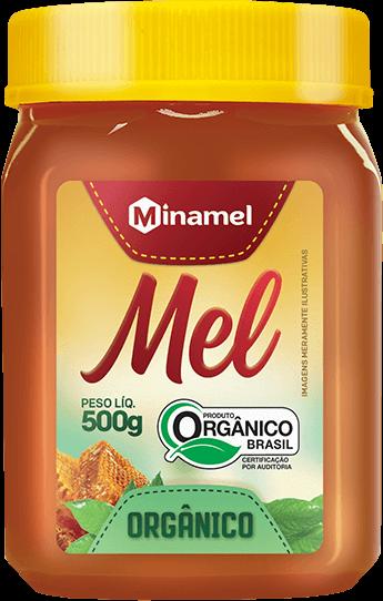 Mel Orgânico 500g Minamel