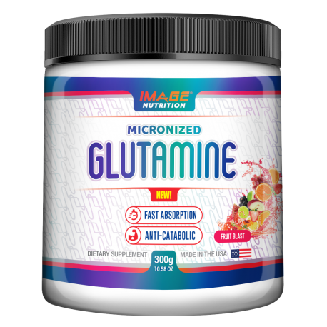 Micronized Glutamine 300g Image Nutrition