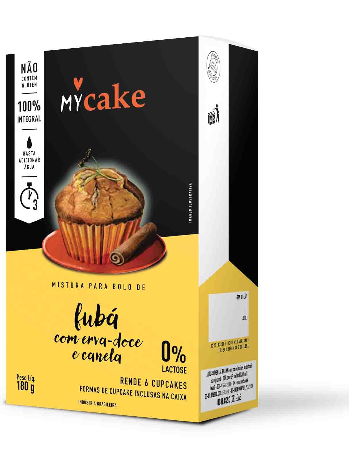 My Cake Fubá com Erva-Doce e Canela 180g My Life