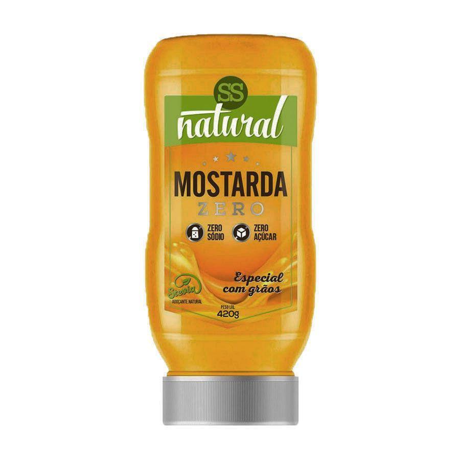 Mostarda Zero 420g SS Natural