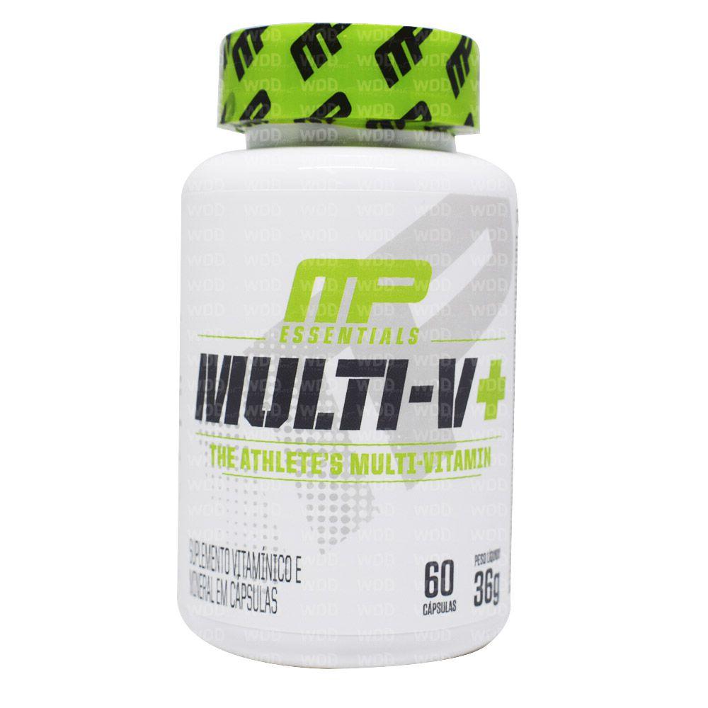 Multi-V+ Multivitamínico 60 caps MusclePharm