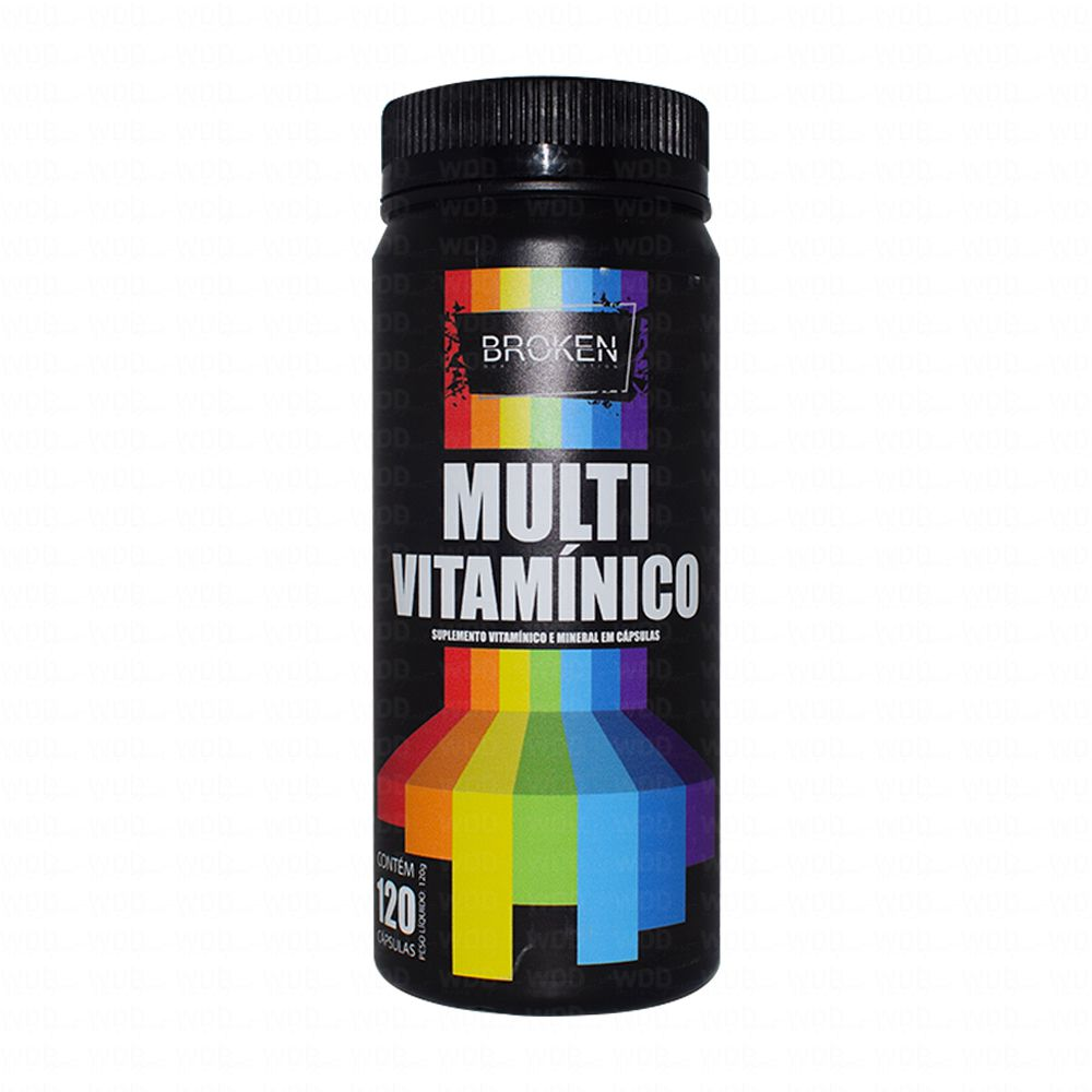 Multi Vitamínico 120 Caps Broken Quality Nutrition