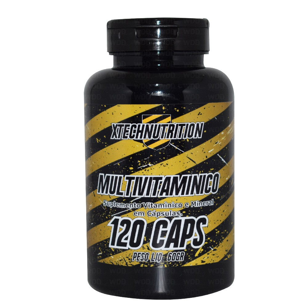 Multivitamínico 120caps Xtech Nutrition