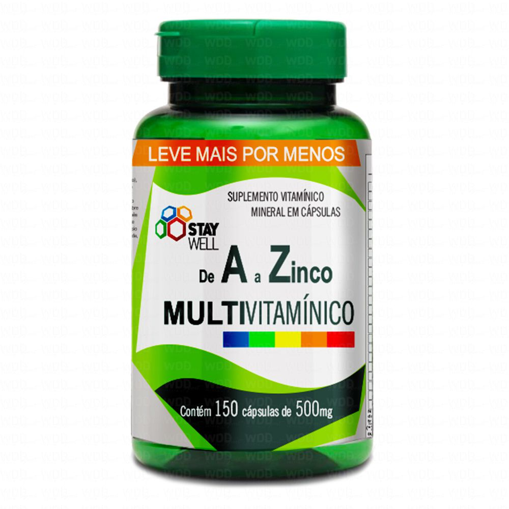 Multivitamínico A-Z 150 caps Stay Well
