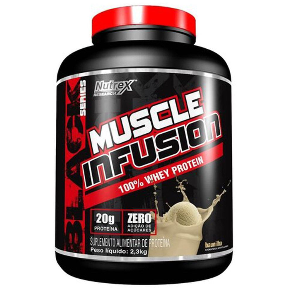 Muscle Infusion 100% Whey Protein 2,3kg Nutrex