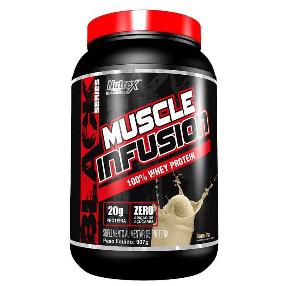 Muscle Infusion 100% Whey Protein 907g Nutrex