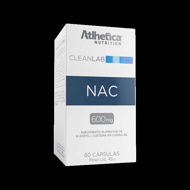 Cleanlab NAC 600mg 60 caps Atlhetica