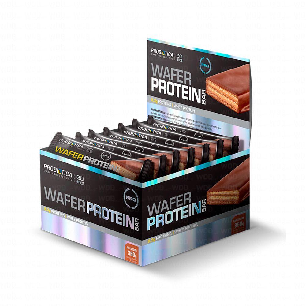 Nova Wafer Protein Cx c/12und de 30g Probiotica
