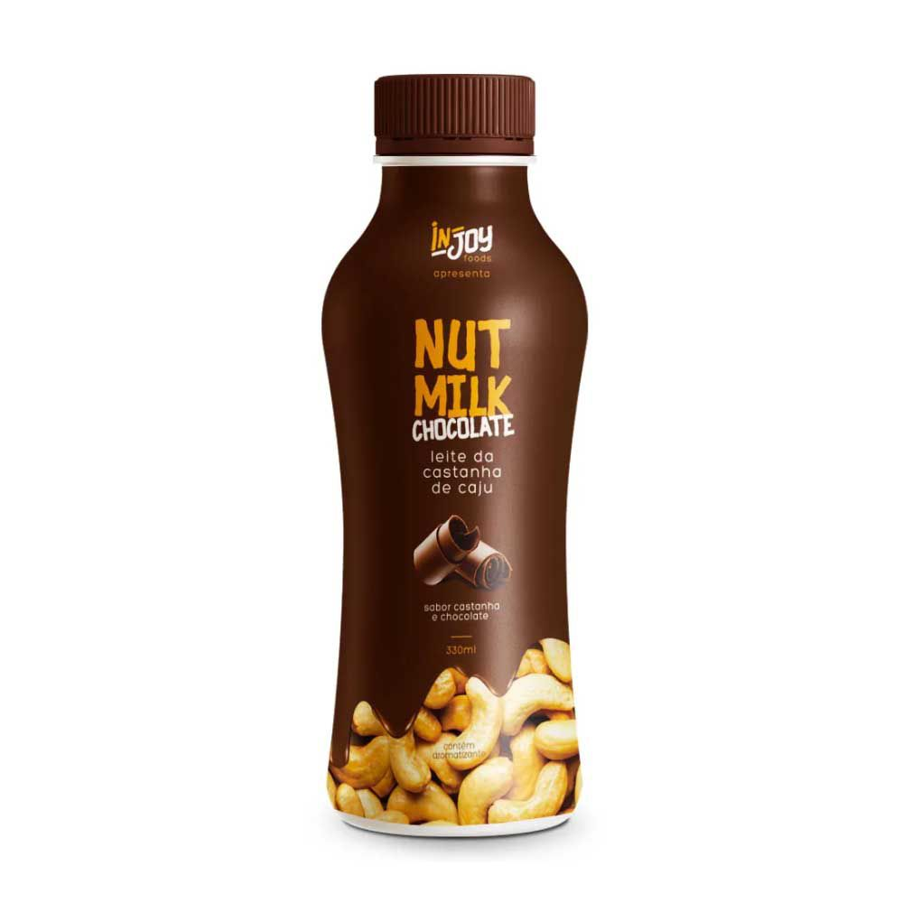 Nut Milk Castanha e Chocolate 330ml Injoy