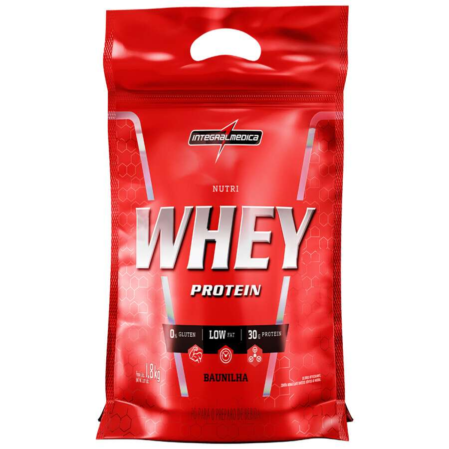 Nutri Whey Protein Refil 1,8kg IntegralMedica