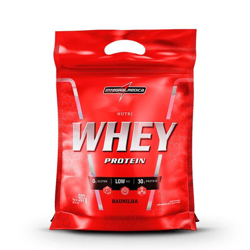 Nutri Whey Protein Refil 907g IntegralMedica