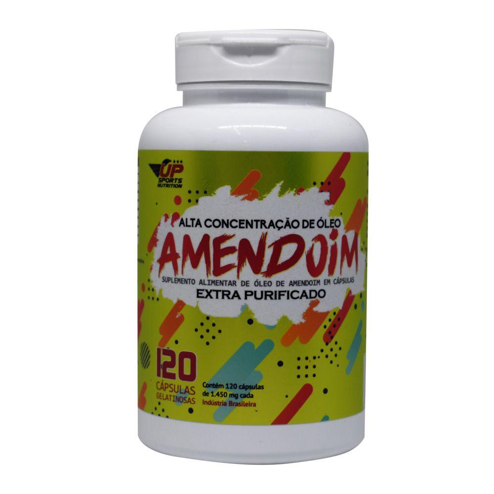 Óleo de Amendoim 120 Caps Up Sports Nutrition