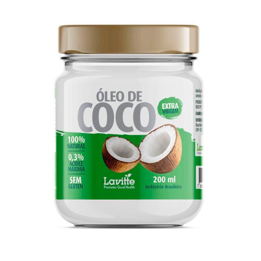 Óleo de Coco 200ml Lavitte