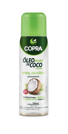 ÓLEO MISTO DE COCO E PALMA SPRAY CULINÁRIO 200ML COPRA - 2 UNIDADES