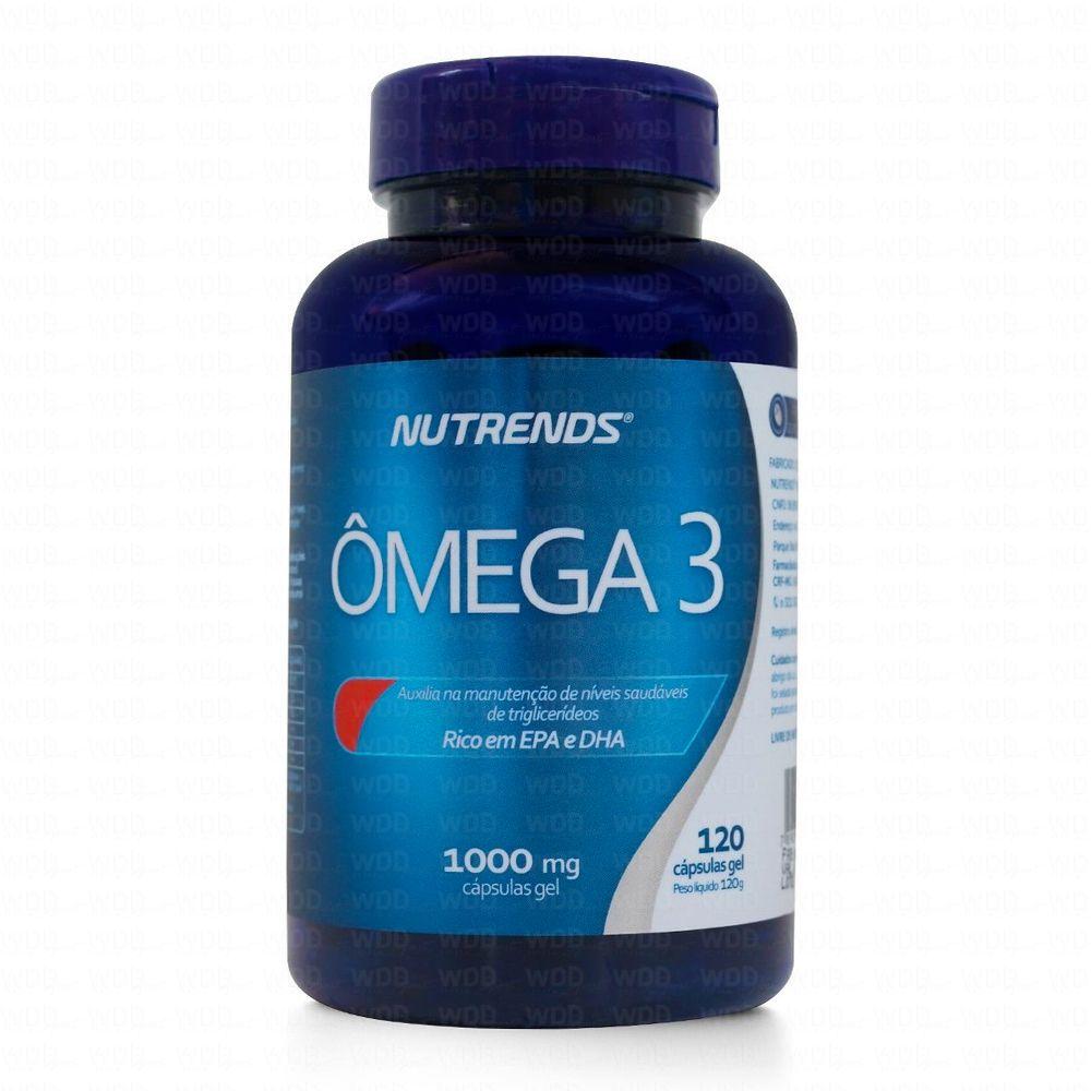 Ômega 3 1000 mg 120 caps Nutrends