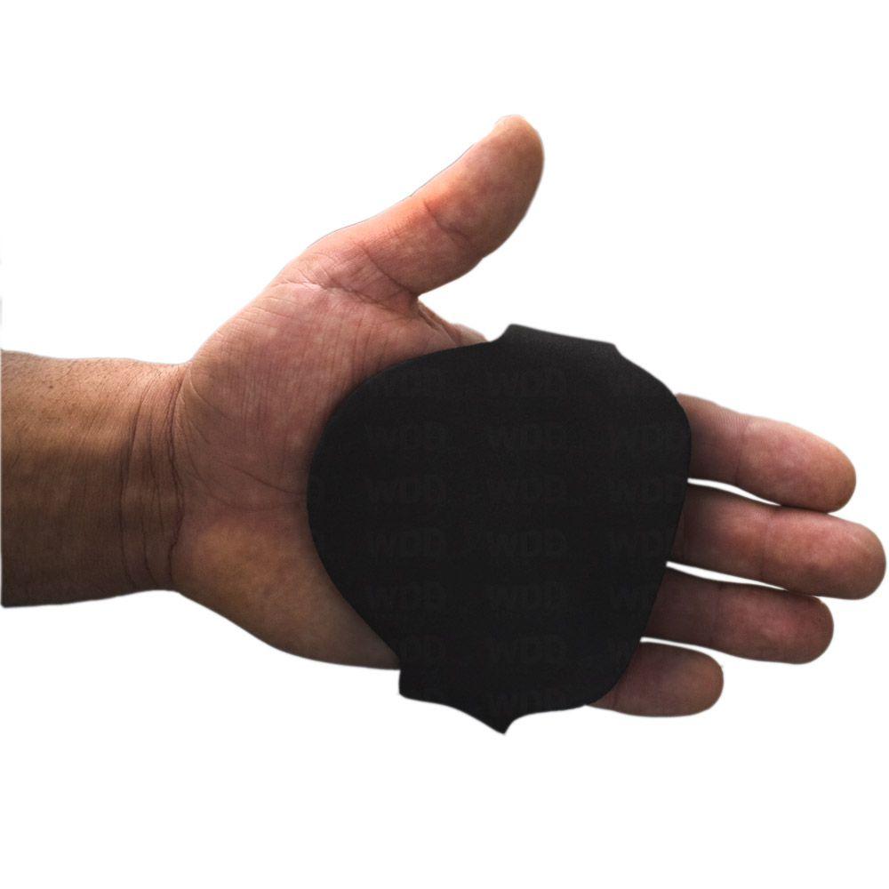 Par de luva proteção palmar Preta
