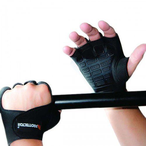 Par de Luvas Fitness Gel  Prottector