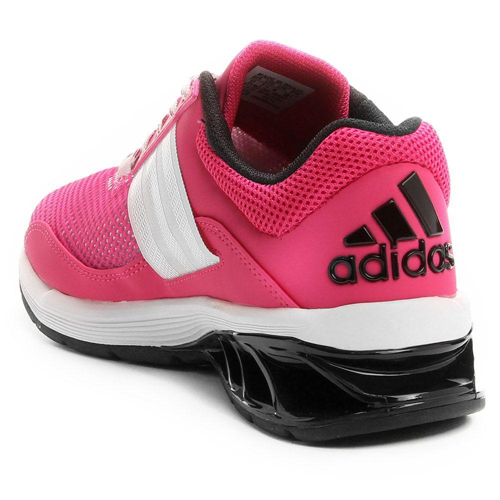 Par de Tênis Adidas Runway Rosa/preto