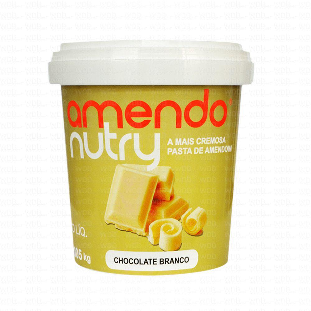 Pasta de Amendoim 1,005Kg Chocolate Branco AmendoNutry