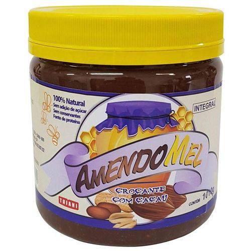 Pasta de Amendoim Amendomel Crocante com Mel e Cacau 1kg Thiani