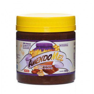 Pasta de Amendoim Amendomel Crocante com Mel e Cacau 500g Thiani