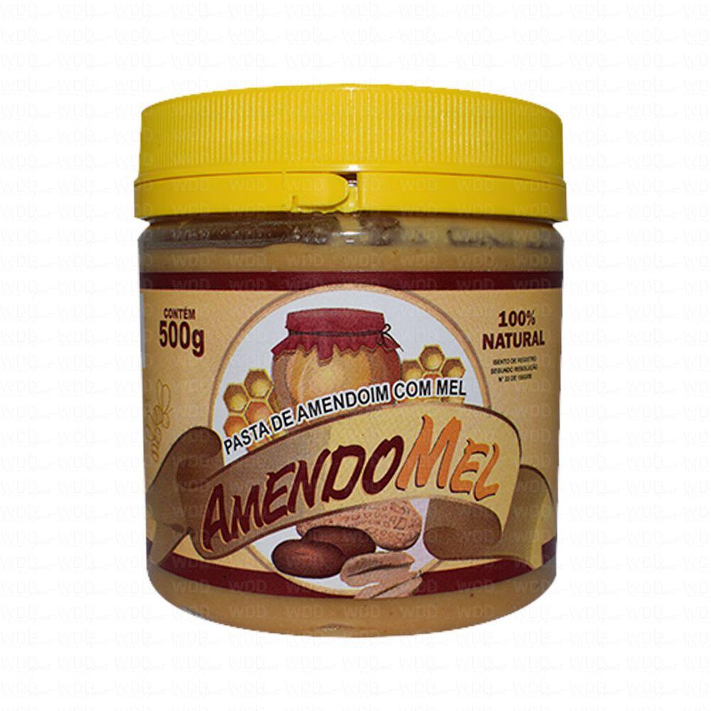 Pasta de Amendoim Amendomel Tradicional 500g Thiani