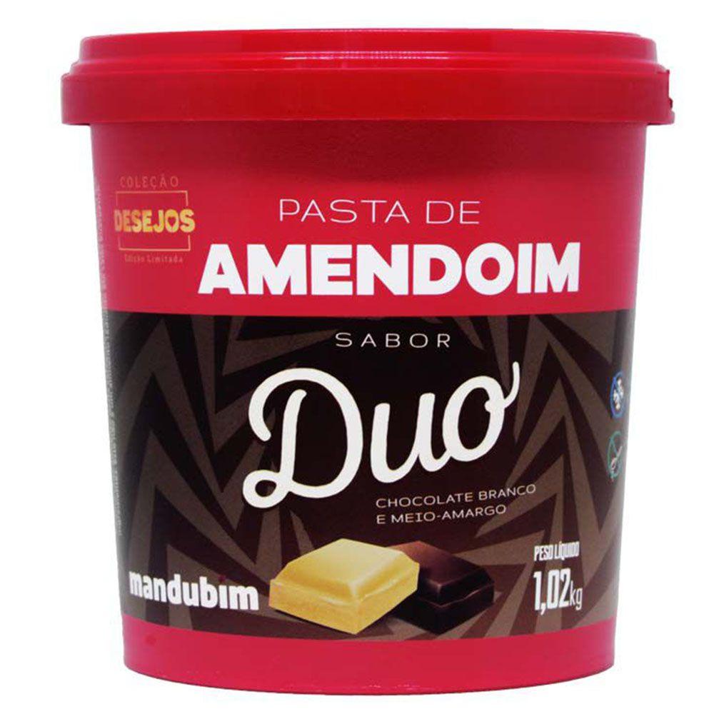 Pasta de Amendoim Duo 450g Mandubim