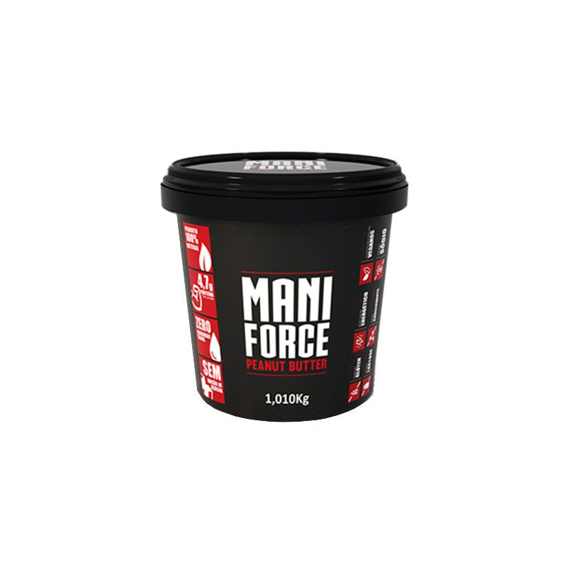 Pasta de Amendoim Integral 1kg Mani Force