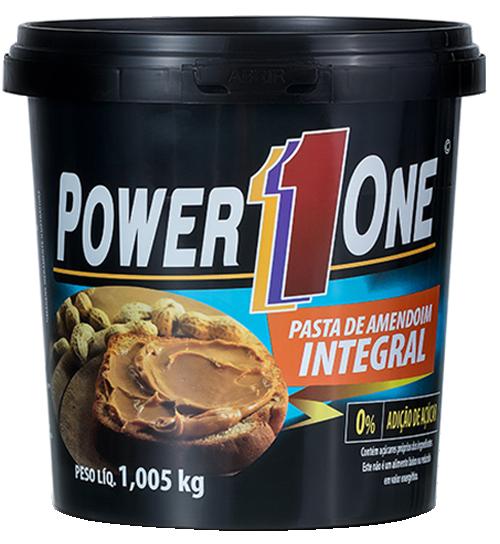 Pasta de Amendoim Integral 1Kg Power One