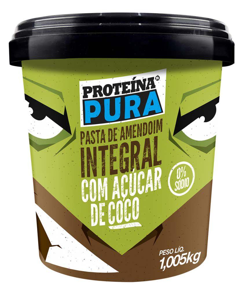 Pasta de Amendoim Integral com Açúcar de Coco 1,005kg Netto Alimentos