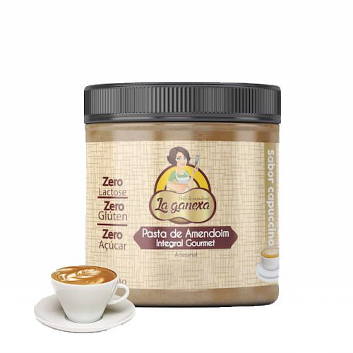 Pasta de Amendoim Integral Gourmet Capuccino 1,005kg La Ganexa