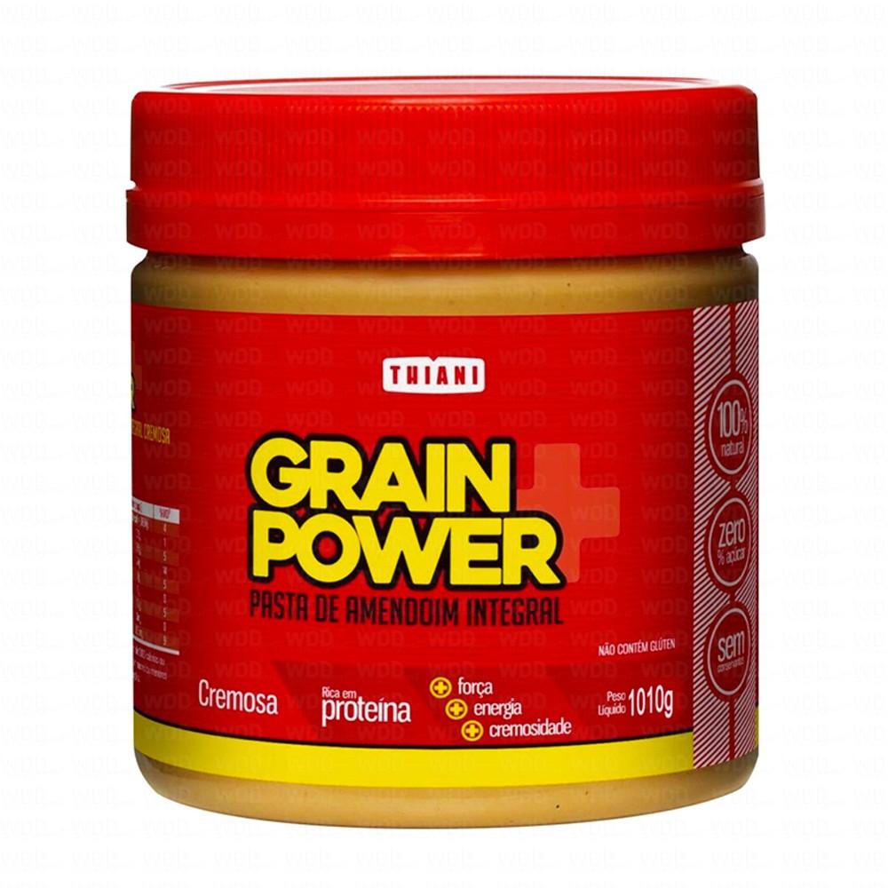 Pasta de Amendoim Integral Grain Power 1Kg Thiani