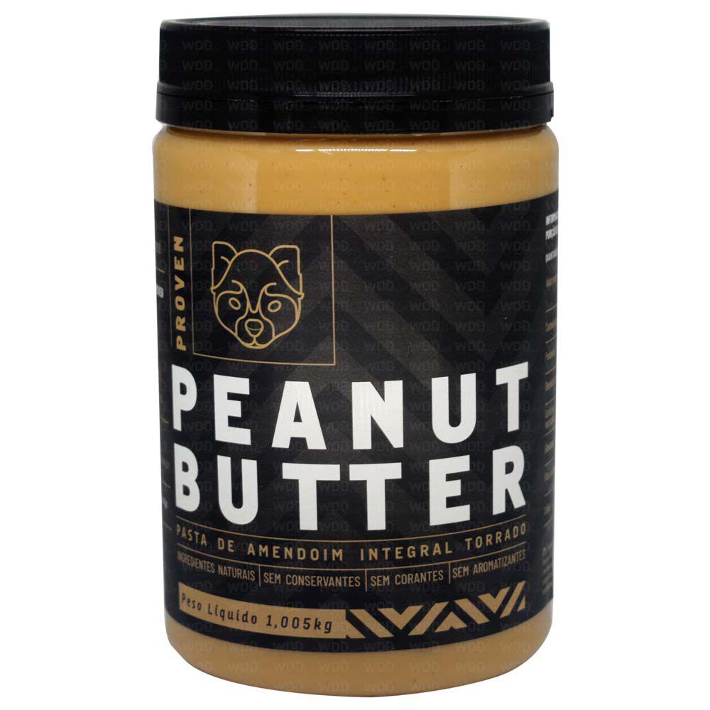 Pasta de Amendoim Integral Torrado 1kg Proven