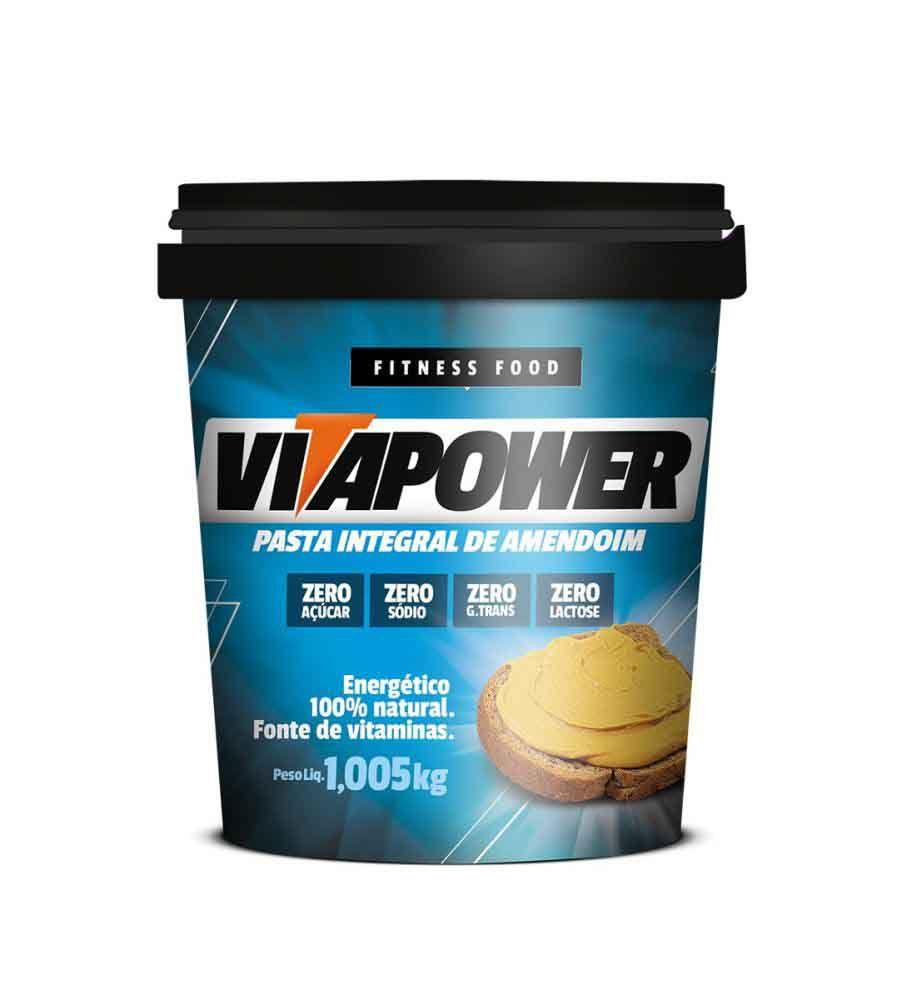 Pasta de Amendoim Vitapower Integral 1,005kg Mrs Taste