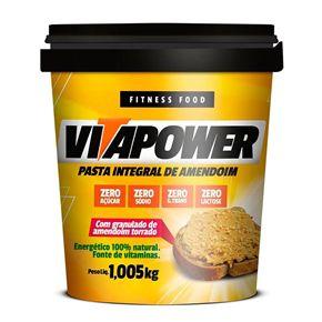 Pasta de Amendoim Vitapower Integral com Granulado 1,005kg Mrs Taste