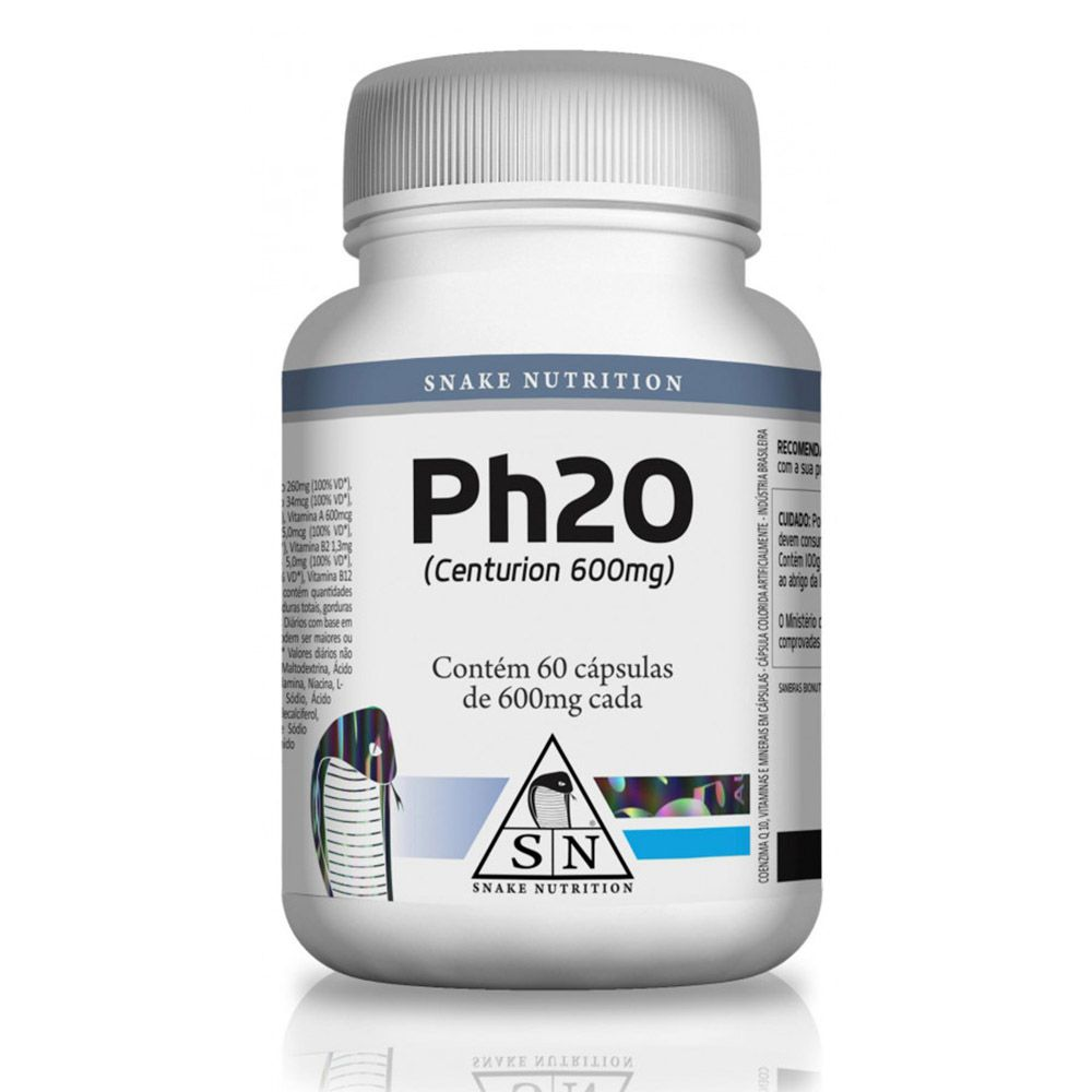 Ph20 60 Cápsulas Snake Nutrition