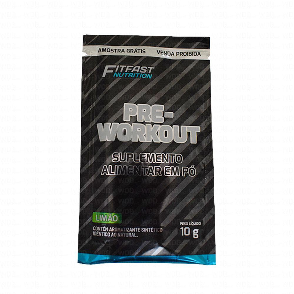 Pré Treino 10g Limão FitFast Nutrition