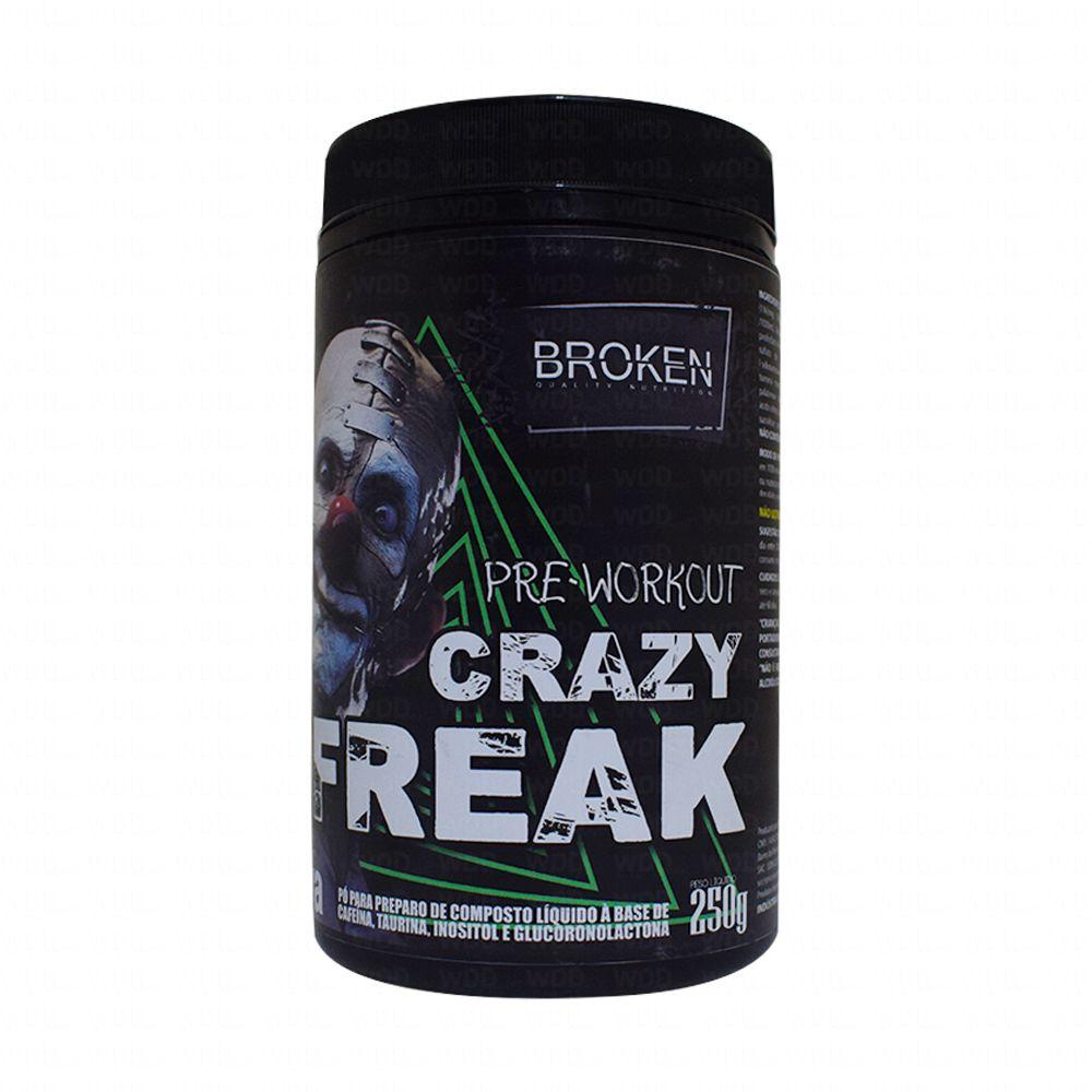 Pré Treino Crazy Freak 250g Broken Quality Nutrition