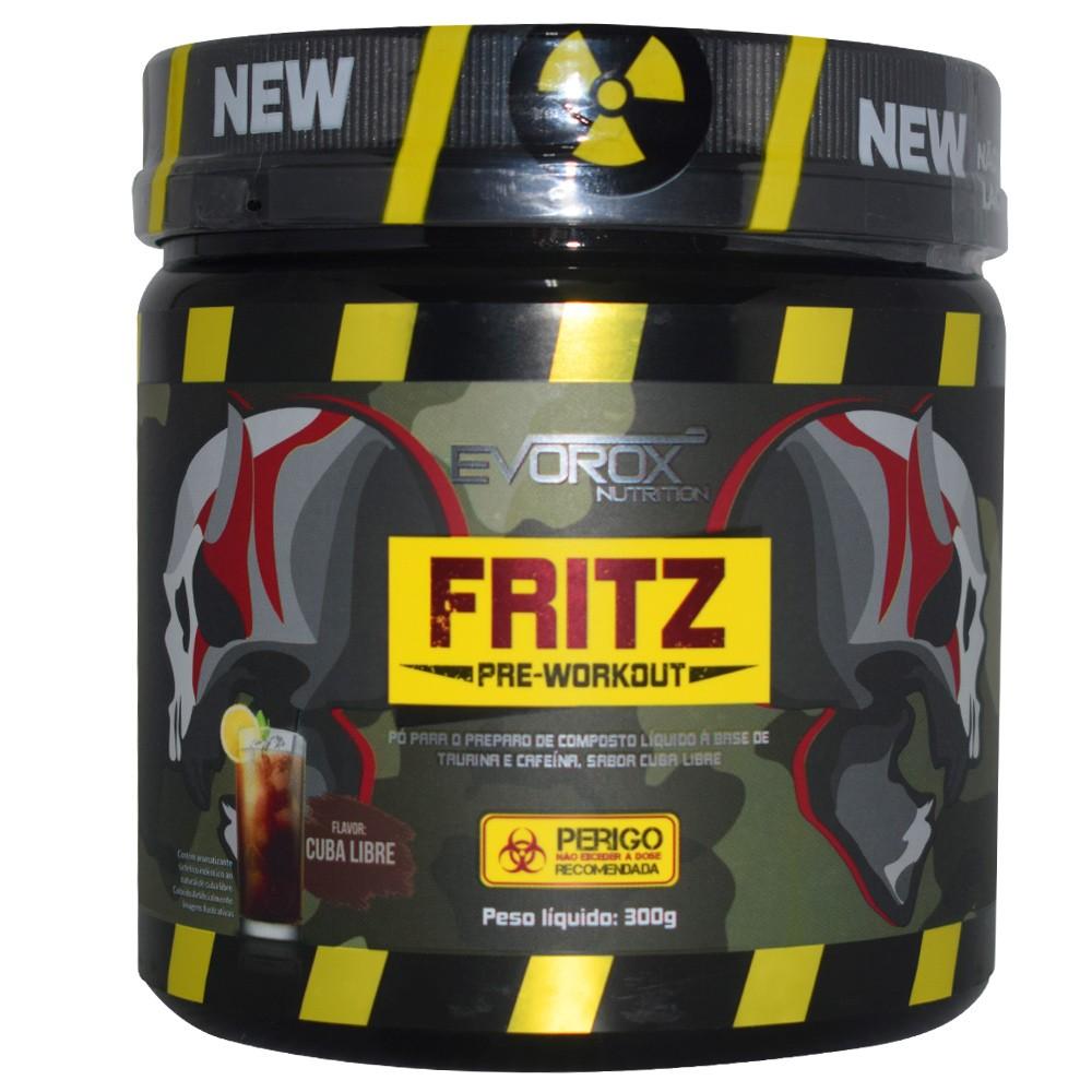 Pré Treino Fritz 300g Evorox Nutrition