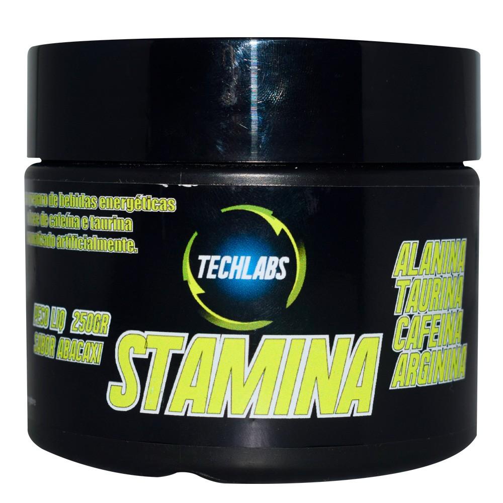 Pré Treino Stamina 250g Techlabs