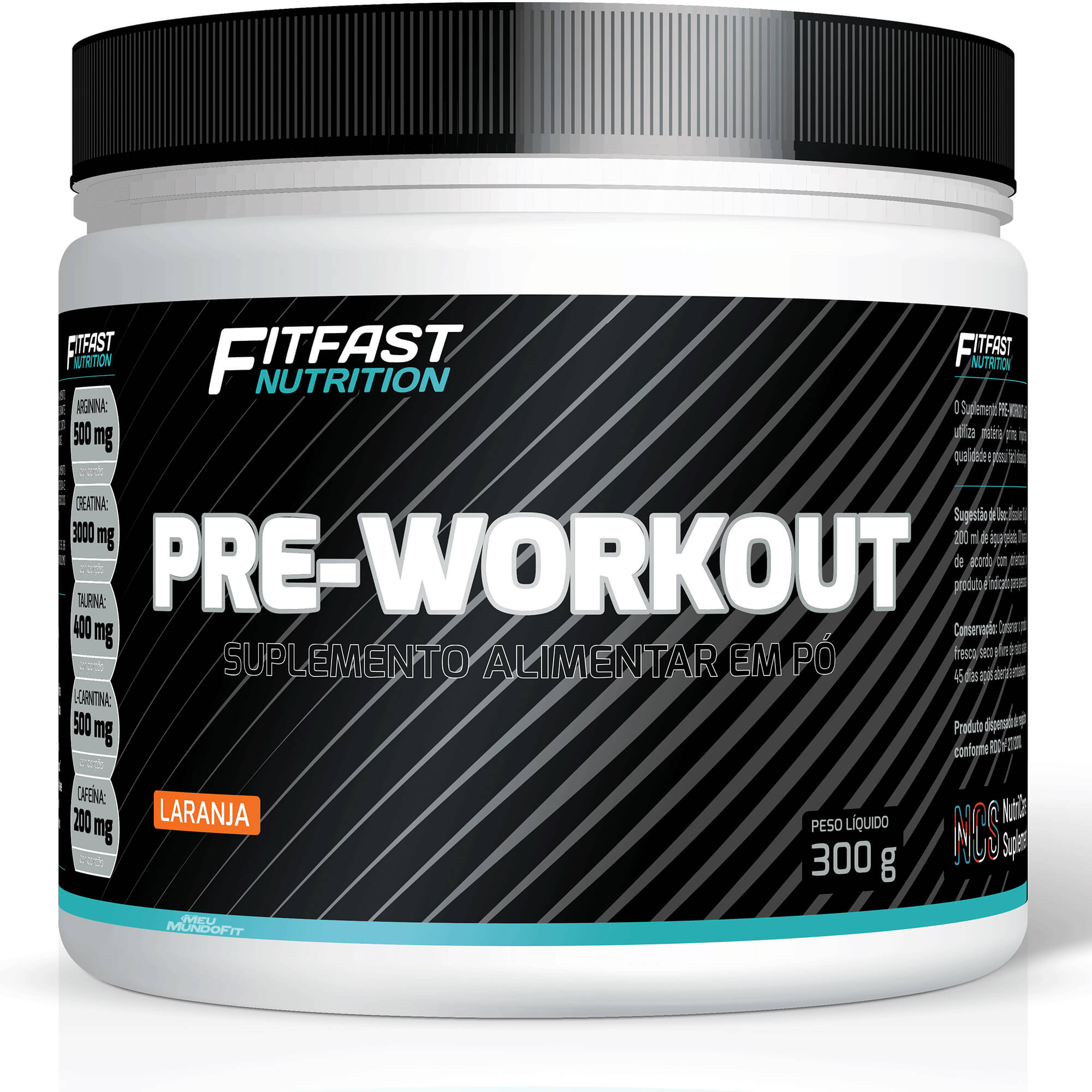 Pré-Workout 300g Fit Fast Nutrition