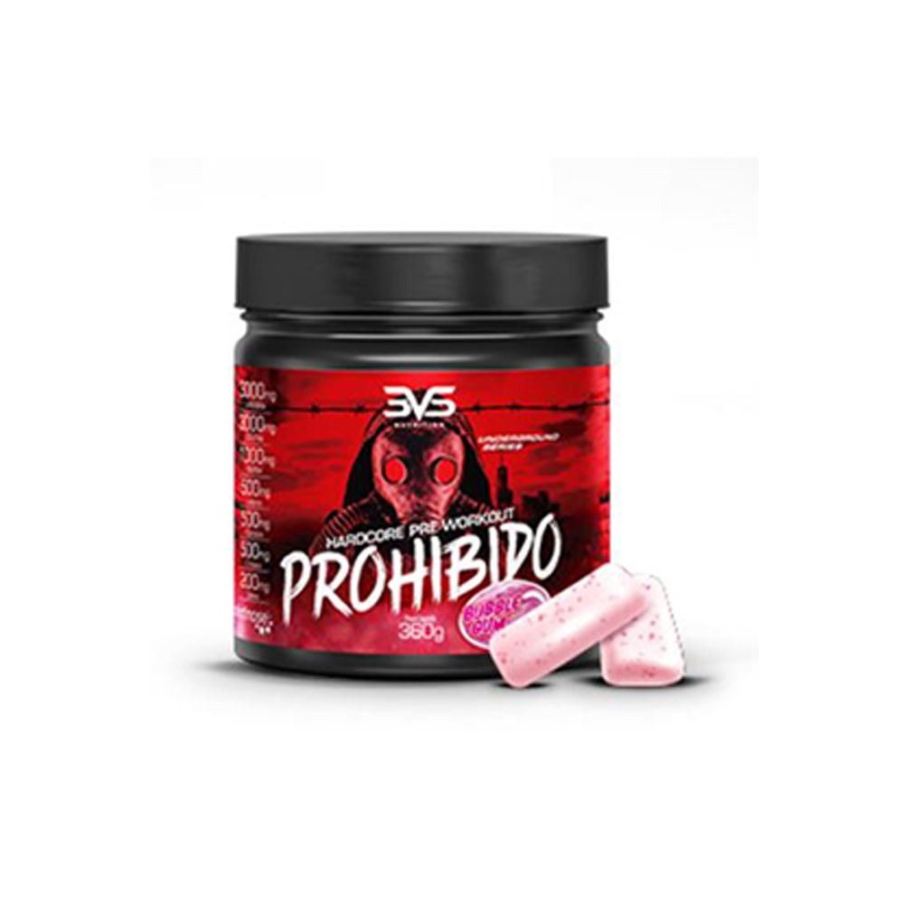 Prohibido Hardcore Pre-Workout 360g 3VS