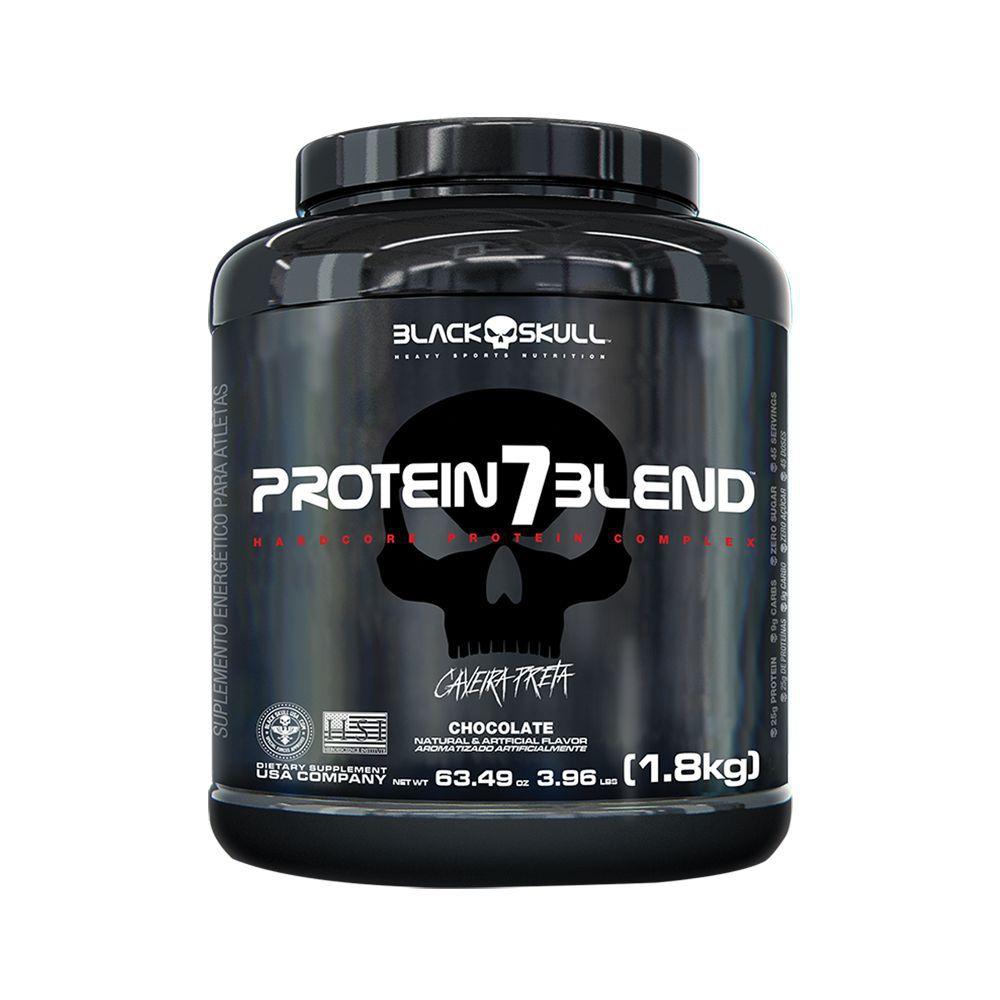 Protein 7 Blend 1.8kg Caveira Preta Black Skull